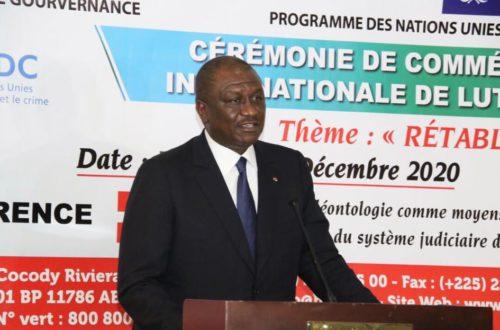 Article : Corruption en Côte d'Ivoire : Hamed Bakayoko invite les populations à l'exemplarité et à un comportement éthique